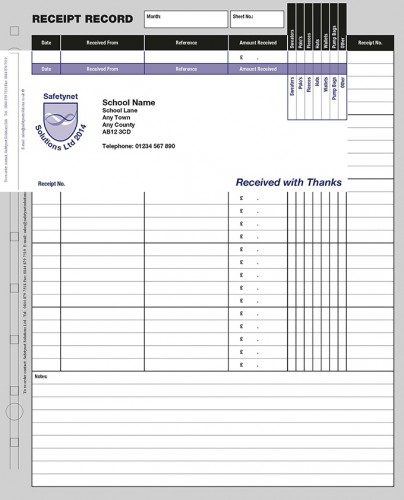 School Receipt Record System