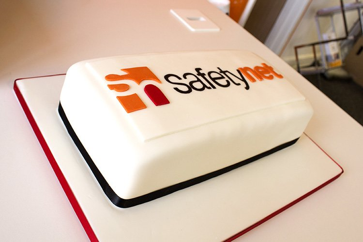 safetynet logo cake new website