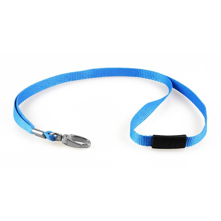 10mm Lanyard With Metal Lobster Clip Royal Blue