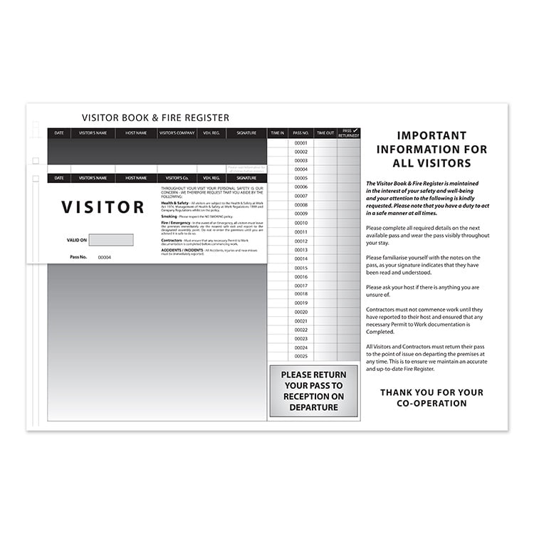 visitor pass system
