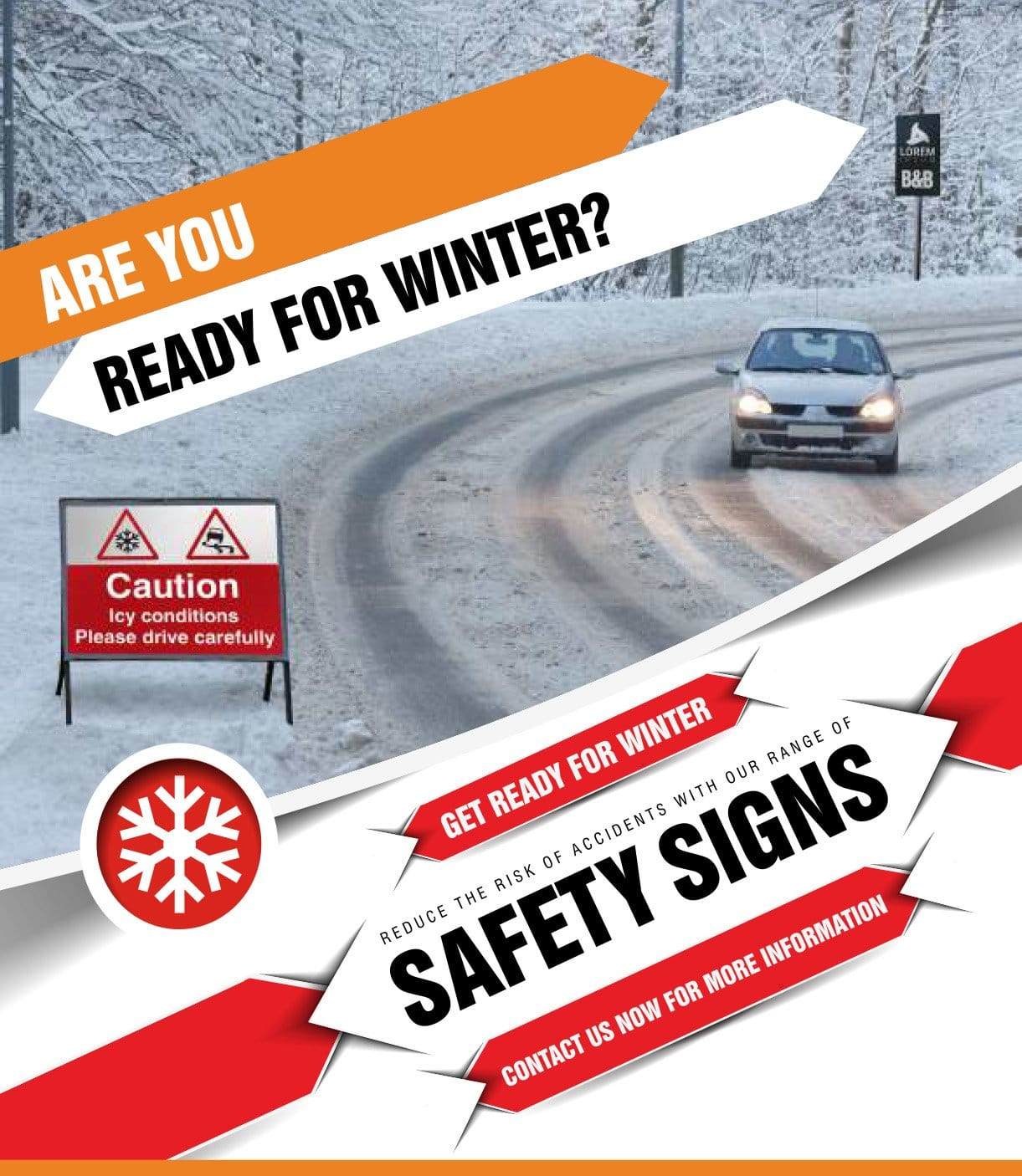 Safetynet Winter Safety Signs