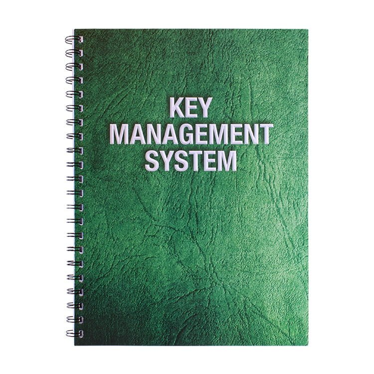 Key Management System Pad With Padded Cover 300 Records