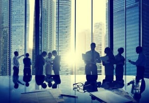 Visitor management for multi-tenant buildings