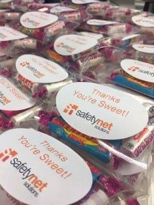 Thank You Sweets from Safetynet