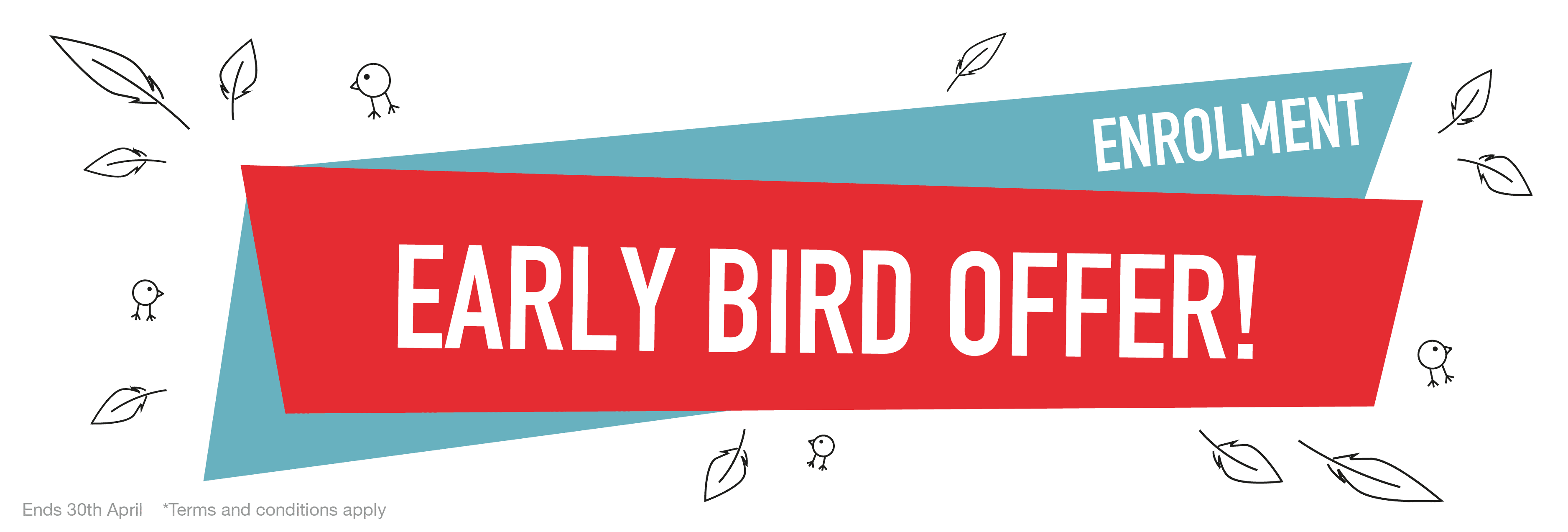 Early Bird Enrolment Offer - Safetynet