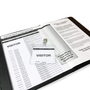 Visitor Pass Sign-In System 1