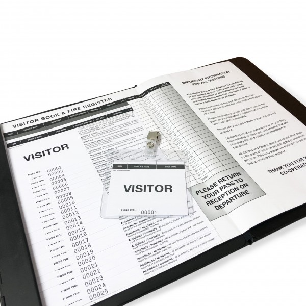 Visitor Sign-In Pass System 2