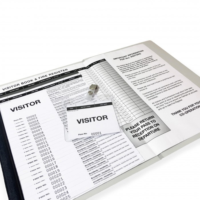 Visitor Sign-In Pass System 5