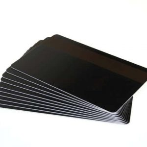 Black Gloss Premium Cards With 2750oe Hi Co Mag Stripe, Coloured Core - Pack of 100