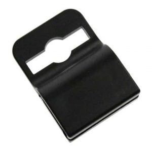Black ID Card Gripper Clips (Pack of 100)