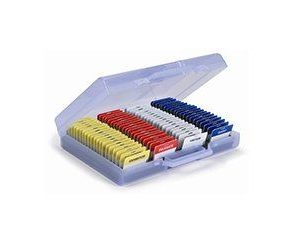 Card Caddy Organiser with Lock (50 Cards)