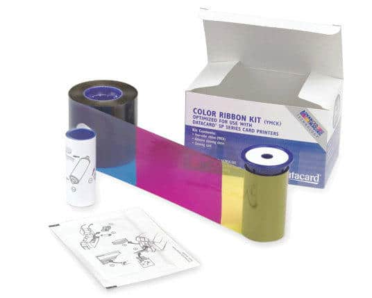 Datacard Colour Ribbon Kit, YMCK, 534000-008 - 500 prints