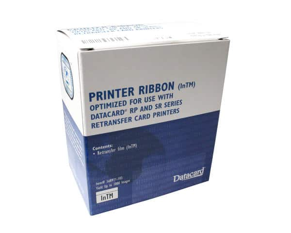 Datacard SR200 & SR300 RP90 Re-Transfer Film 568971-503 - 1000 Images (this will shortly replace 568971-103)