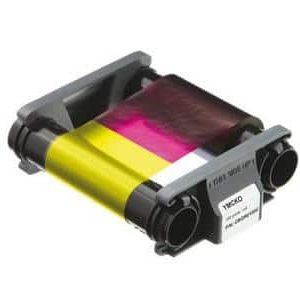 Evolis CBGR0100C YMCKO Colour Ribbon (100 Prints)