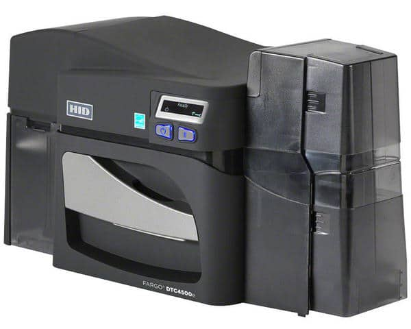 Fargo DTC4500e Dual-Sided ID Card Printer with dual-sided Lamination