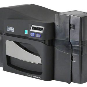 Fargo DTC4500e Dual Sided Plastic Card Printer with USB Connectivity - 055100