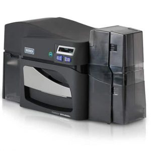 Fargo DTC4500e Single Sided Plastic Card Printer with USB and Ethernet Connectivity - 055000