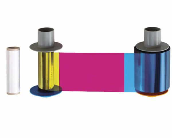 Fargo HDP5000 YMCKH Ribbon with Heat Seal Panel, 084056 - 500 prints