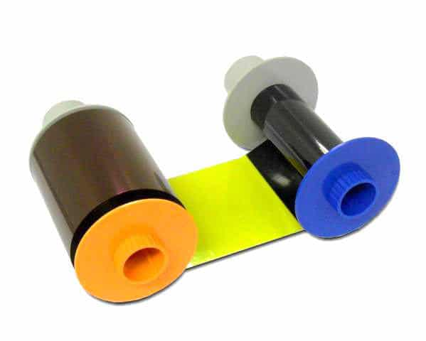 Fargo HDP5000 YMCKK Ribbon, 084052 - 500 prints