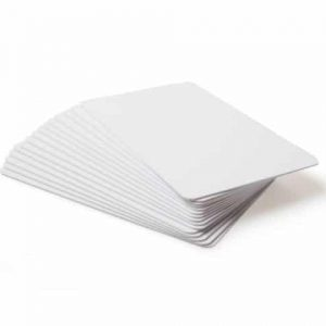 HID 081754 UltraCard 30 mil, 760 micron Blank White Cards (Pack of 500)