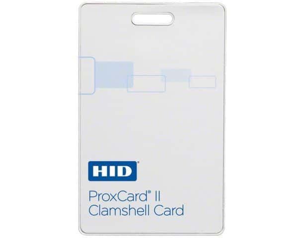 HID 1326 Proxcard II Clamshell Cards - N10002 34bit (Pack of 100)