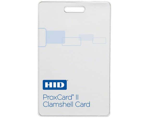 HID 1326LMSMV Proxcard II Clamshell Cards - H10301 26bit (Pack of 100)