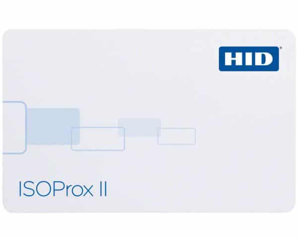 HID 1386 Isoprox II Proximity Cards - N10002 34bit OHPON34 (Pack of 100)