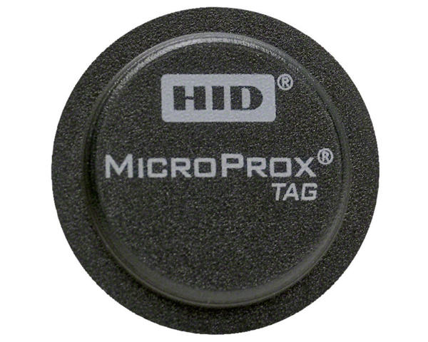 HID 1391LGSMN Microprox Tag Adhesive Proximity Disc, 26bit - 1391 - Pack of 100