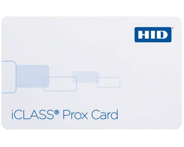 HID 2120BGGMNM ISOprox II & iClass Dual Technology Composite Cards W-2K Bits & 2 App Areas - Pack of 100