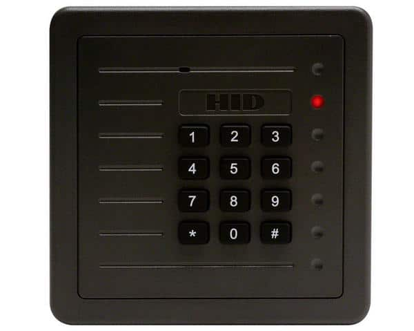 HID 5355AGK00 ProxPro Card Reader with Keypad