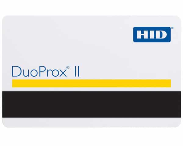 HID DuoProx II 1336LGGMN RF Duo Proximity Cards With Magnetic Stripe (Pack of 100)