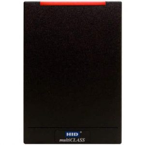 HID R40 iCLASS Contactless Card Reader, Black, Terminal Connection - 920NTNTEK00000