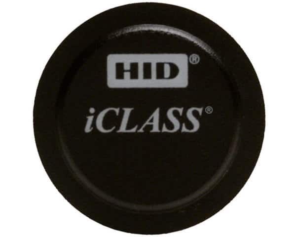 HID iClass Micro Tags with 2K Bits & 2 Application Areas - Pack of 100