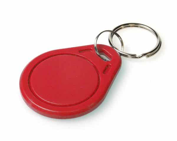Red Mifare Classic® EV1 1K Keyfobs (Pack of 100)