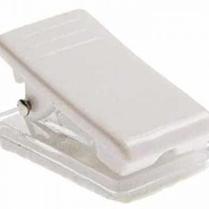 Self-Adhesive Plastic Crocodile Clips (Pack of 100)