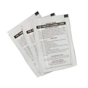 Fargo DTC HDP Iso-Propyl Alcohol Cleaning Cards, 081233 - Pack of 10