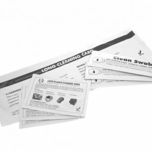 Full Compatible Cleaning Kit for Javelin J200i and J230i (3 cards,1 Long T Card & 3 Swabs) - 61100929