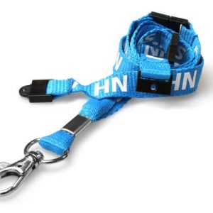 NHS Staff Lanyards with Triple Breakaway (Pack of 100)