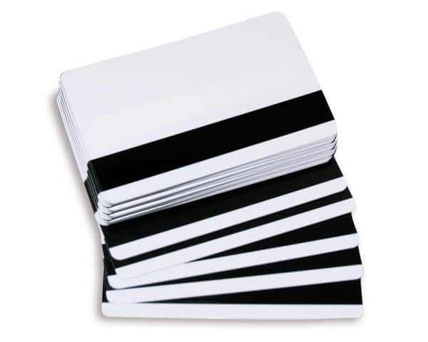 Paxton Net 2 Blank White Cards With Mag Stripe & Signature Panel (Without Prox) - Pack of 10