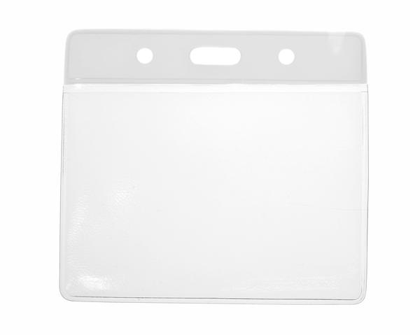 Vinyl White Top Card Holders - 91x65mm (Pack of 100)