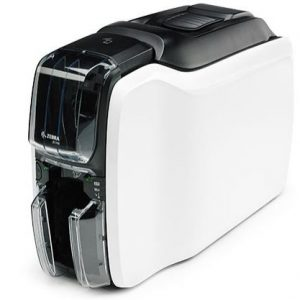 Zebra ZC100 Plastic Card Printer with USB (single-sided)