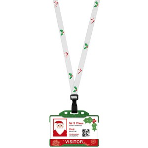 Christmas Lanyard & ID Card